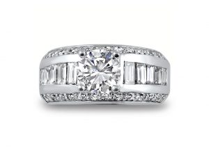 ring-2.0-tcw-round-brilliant-baguettes-moissanite-diamond-flat-denis-fairhead-custom-jewelry-ottawa